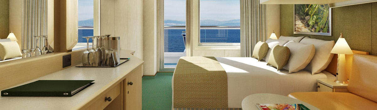 Carnival Magic Cloud 9 Spa Balcony Stateroom