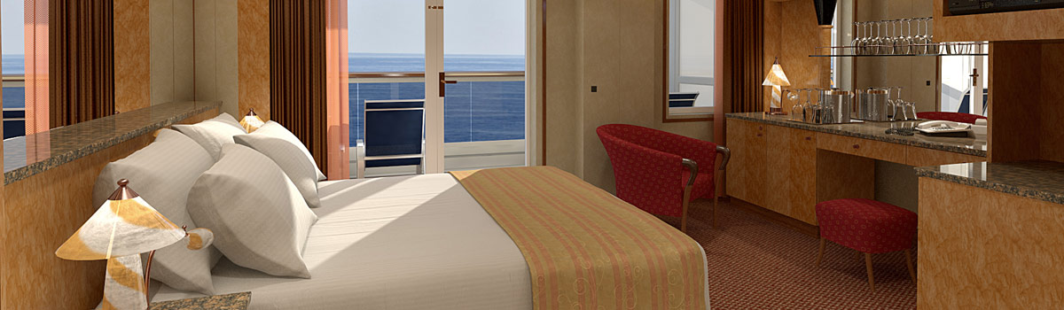 Carnival Miracle Premium Balcony Stateroom