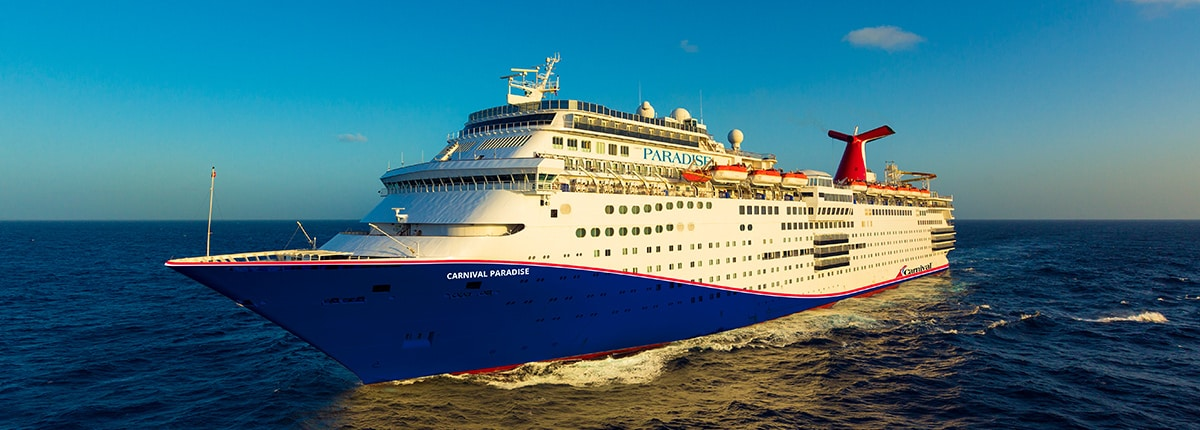 Carnival Paradise | Deck Plans, Activities & Sailings