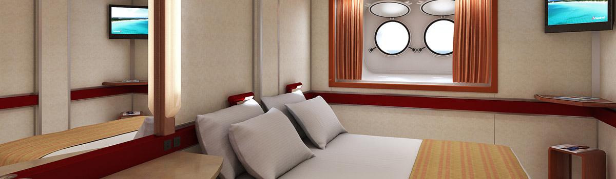 Carnival sensation sensation cruise ship carnival - Carnival sensation interior rooms ...