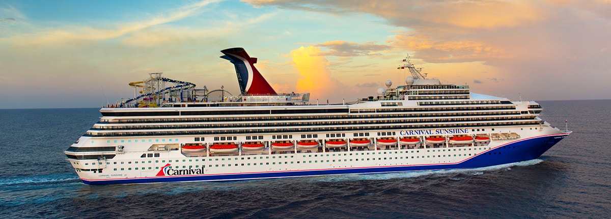 Carnival Sunshine Deck Plans Activities Sailings Carnival