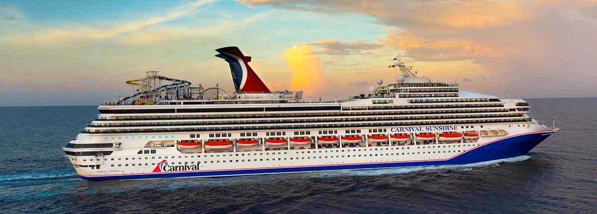 Carnival Sunshine Cruise Ship   Carnival Cruise Line