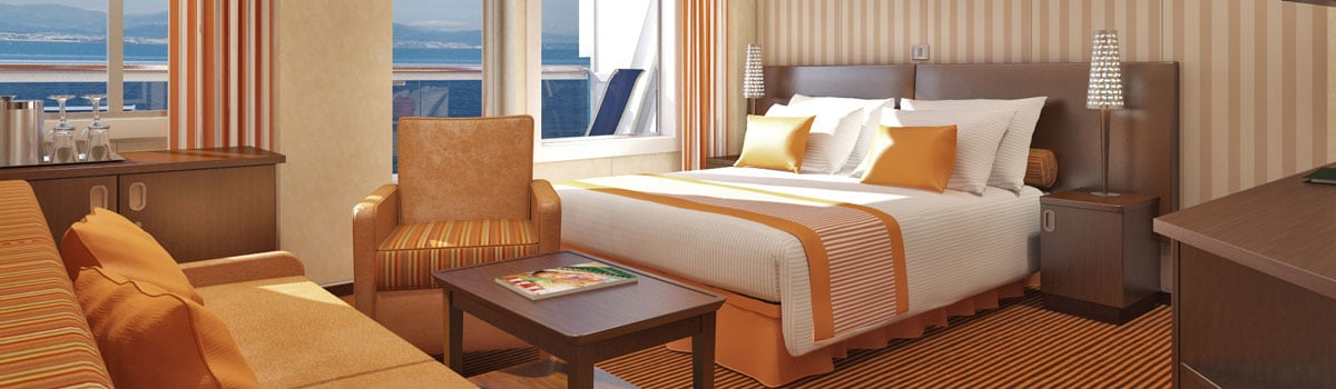Carnival Valor Junior Suite
