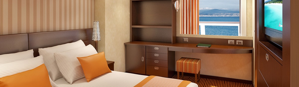 Carnival Valor Captain's Suite