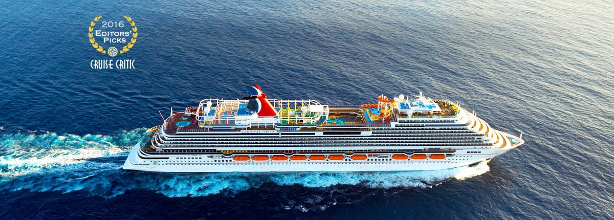 2016 Editor's Pick Cruise Critic Best New Ship Award, Carnival Vista