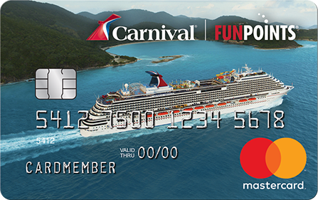 Carnival World Mastercard | Start Earing FunPoints | Carnival Cruise