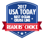 2017 USA Today best ocean cruise line