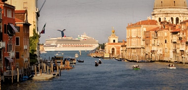 carnival liberty sailing from italy