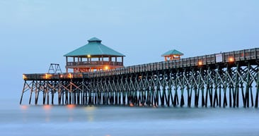 stroll down the folly beach fishing pier in charleston