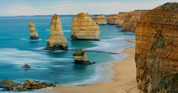 scenic view of the australian coastline