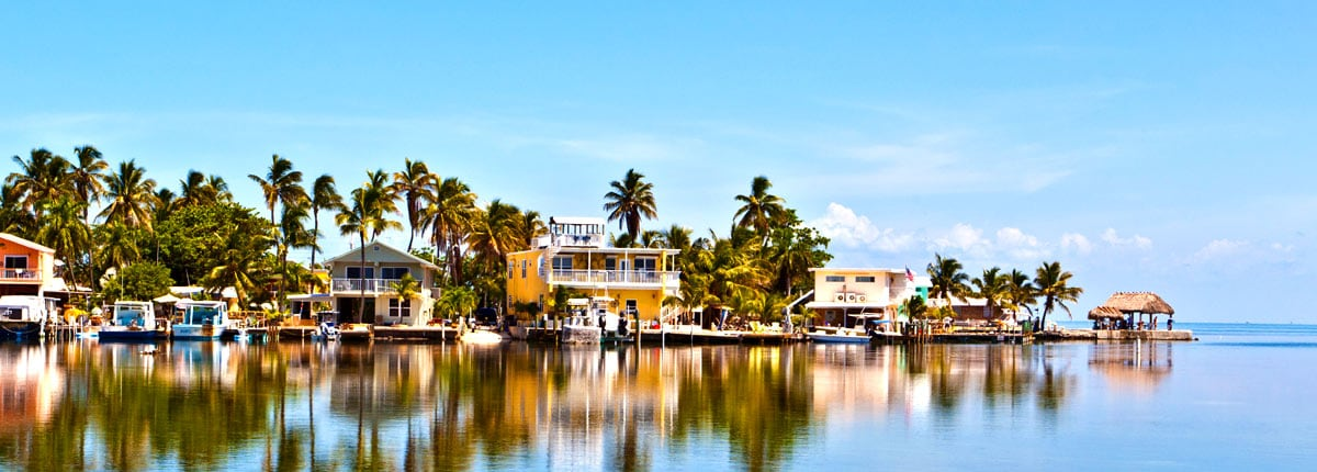 take in relaxing view of key west