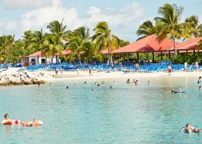 people swimming in princess cays