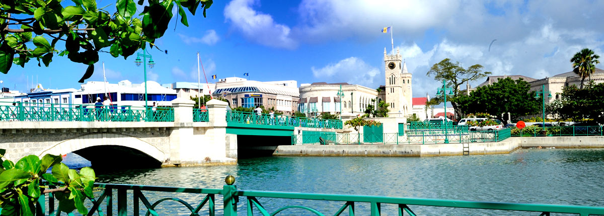 bridge views of barbados waters
