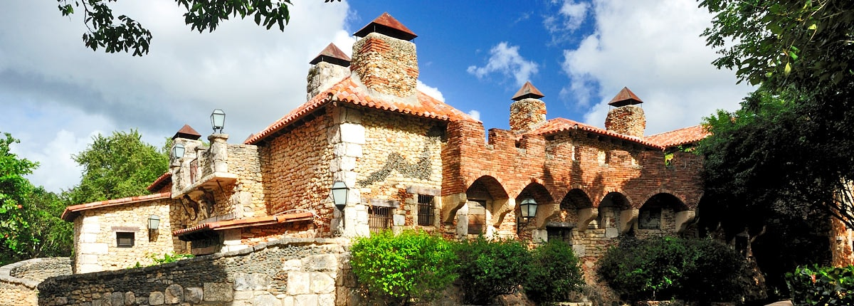 view historical architecture in la romana