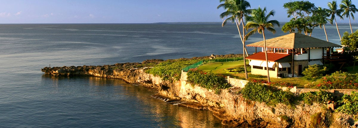 waterfront house in la romana