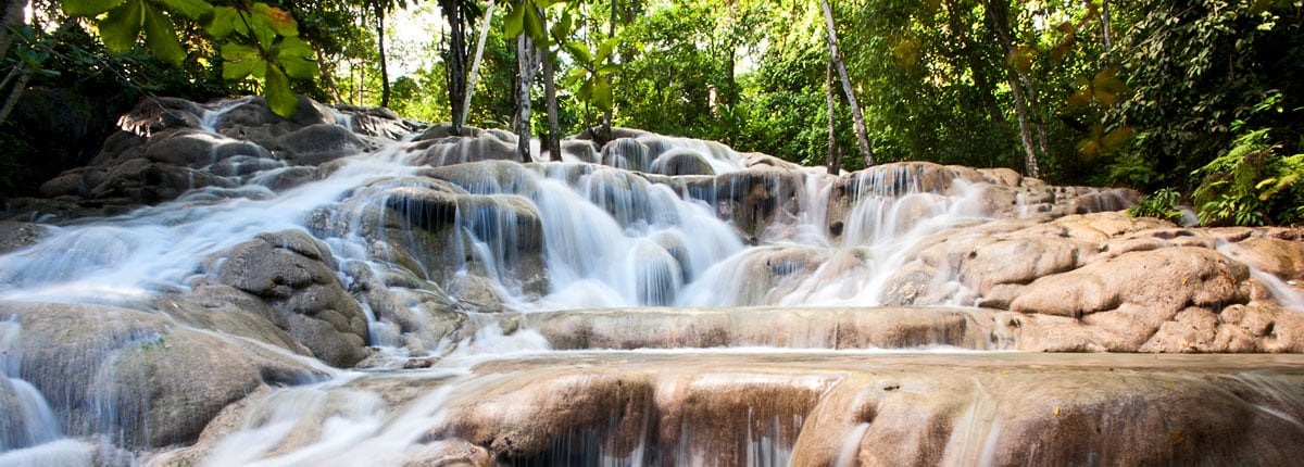 visit the famous dunns river falls