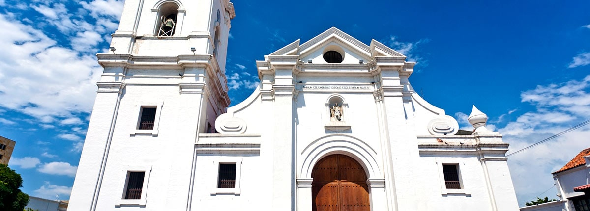 views of the santa marta cathedral