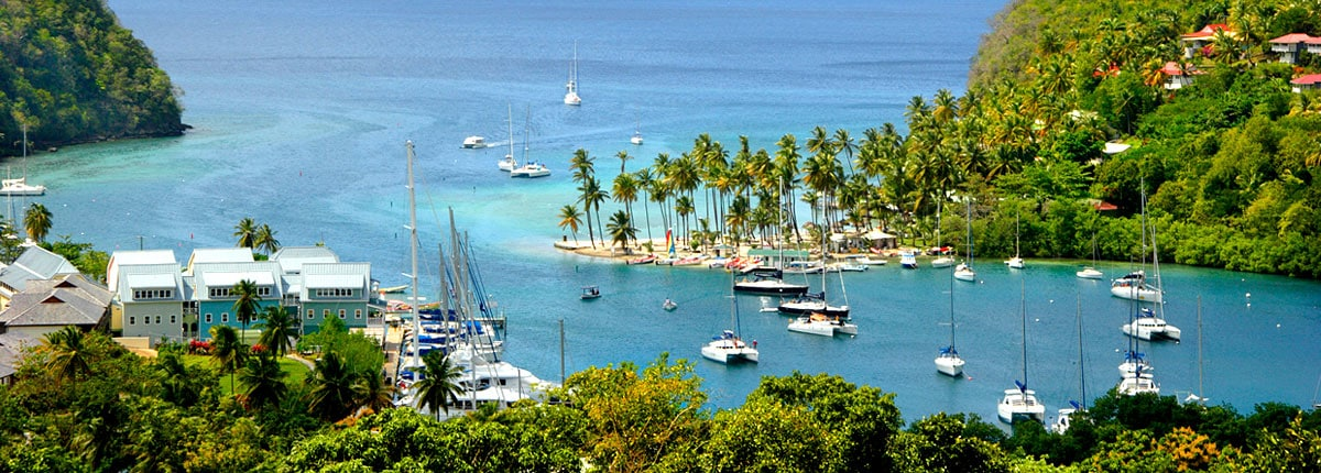 St Lucia Caribbean: Carnival Cruise Line