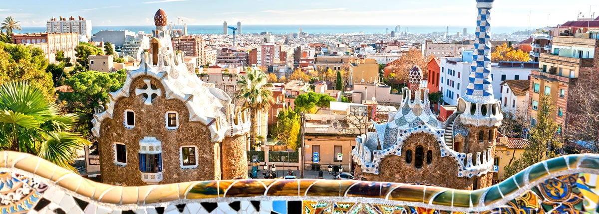 visit gaudi's parc guell in barcelona