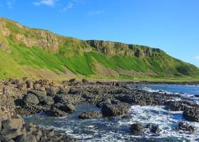 giant causeway in belfast, northern ireland