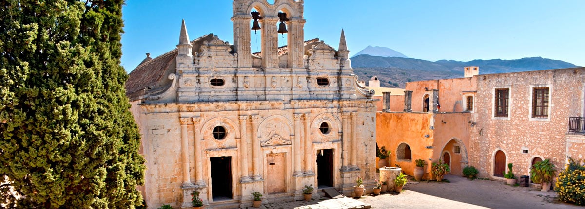 explore old bell towers in crete