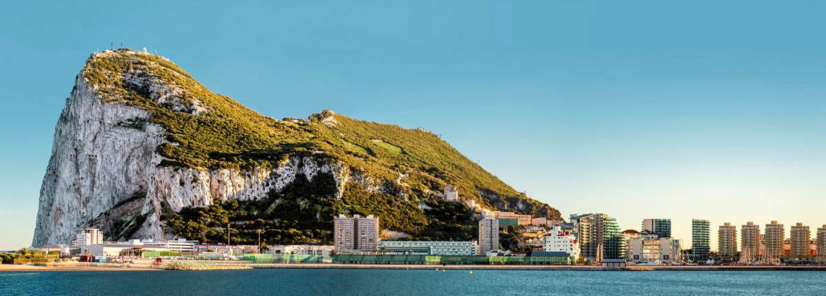 coastal view of gibralter
