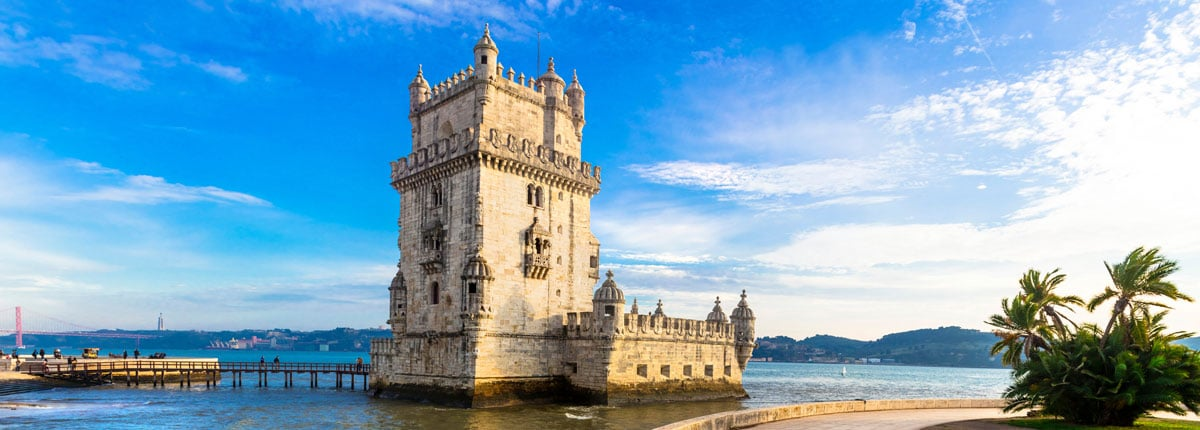 The Belem Tower in Lisbon, Portugal