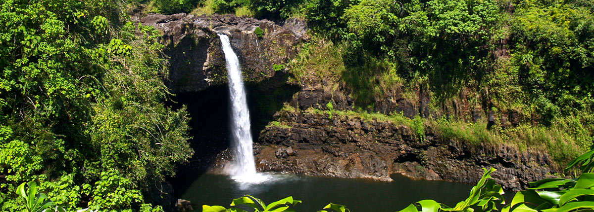 journey to the amazing rainbow falls in hilo