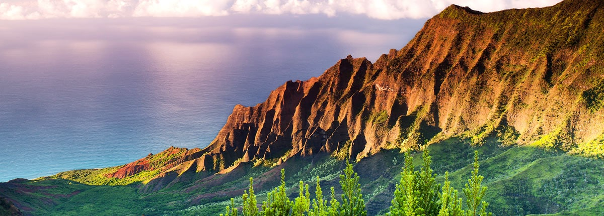 take in the beautiful views of the kalalau valley in kauai