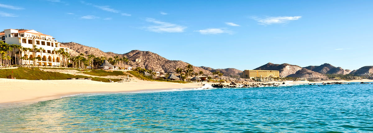 blue water coast in cabo san lucas