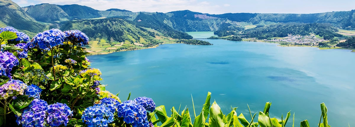 visit the lake of sete cidades in azures, portugal