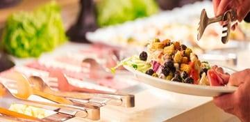 endless salad bar selections