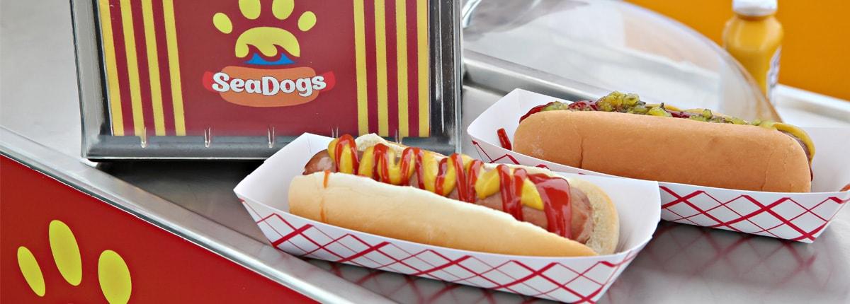 enjoy a hot dog on carnival cruises