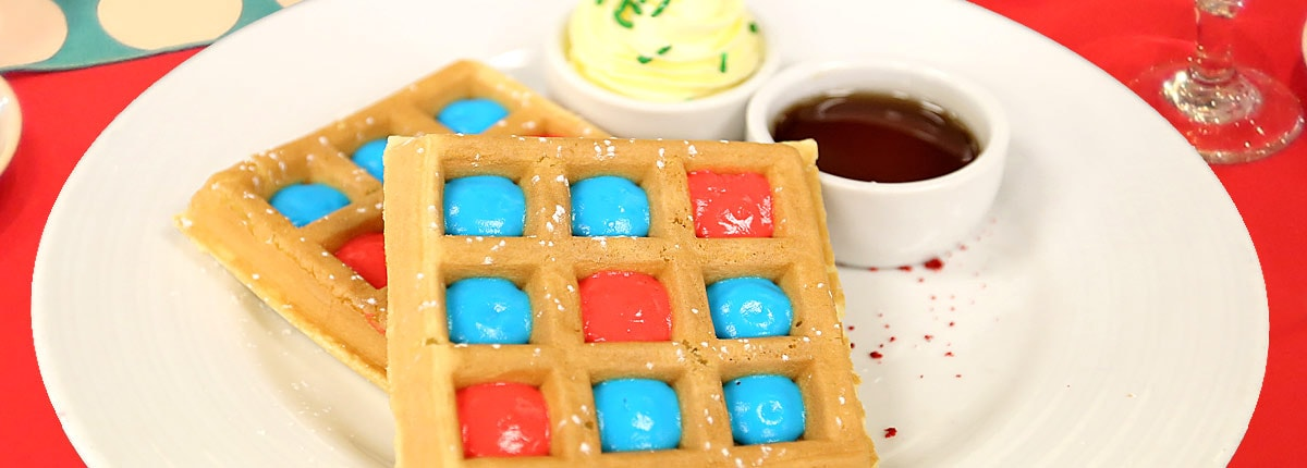 Feast on unique breakfast menus at Dr. Seuss' Green Eggs and Ham Breakfast
