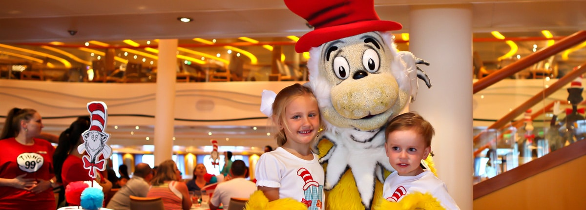 Meet the Cat in the Hat at Dr. Seuss' Green Eggs and Ham Breakfast