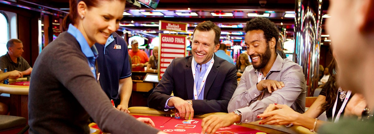 test your skills at the casino tournaments on carnival