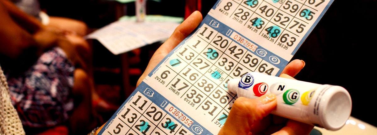 Bingo buzz fills the air