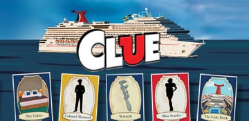 CLUE on Carnival Cruise Line