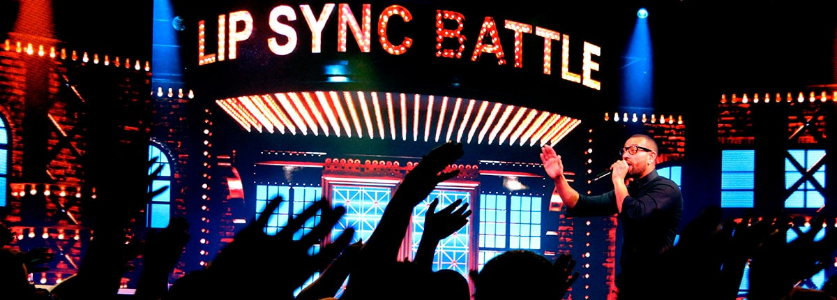 Lip Sync Battle competition on Carnival Cruise Line.