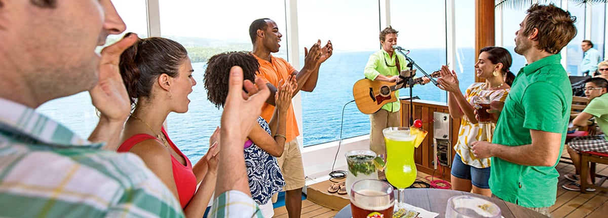 live music on cruise ships
