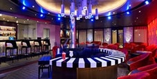 the piano bar onboard carnival cruise lines