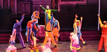 stage shows on carnival cruise lines