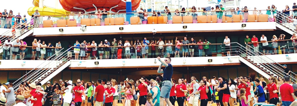 start your cruise off right at the sail away party