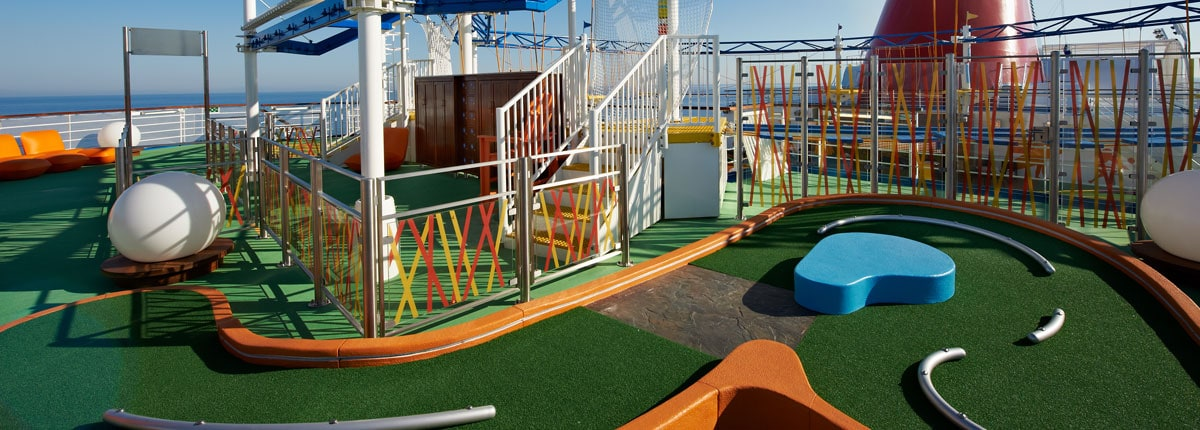 Mini Golf Play A Few Rounds Onboard Carnival Cruise Line