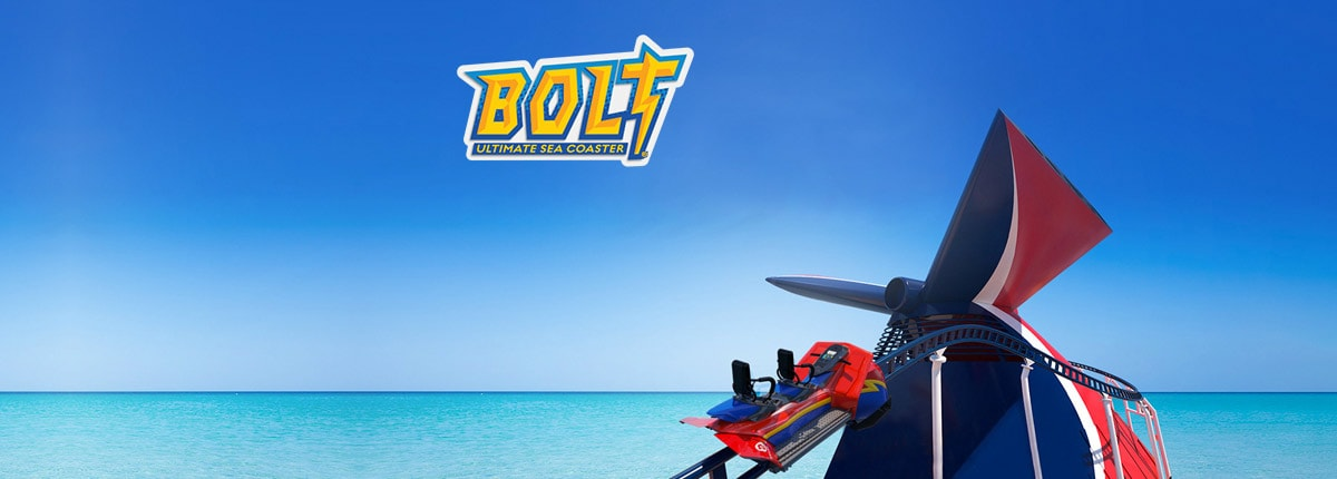 Bolt - first coaster at sea