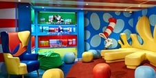 Dr Seuss Bookville exclusively on Carnival cruise lines