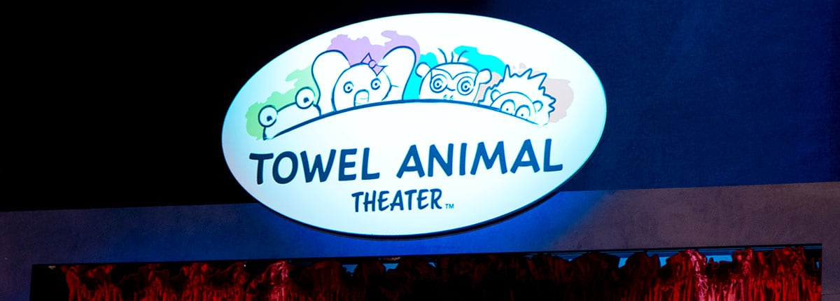 Towel animal theater