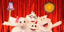 behind-the-curtains peek at Towel animal folding theater