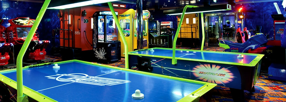 Video Arcade Onboard Video Games Carnival Cruise Line