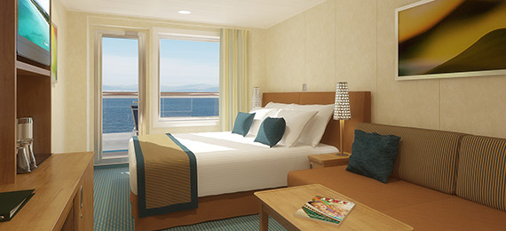balcony cruise stateroom